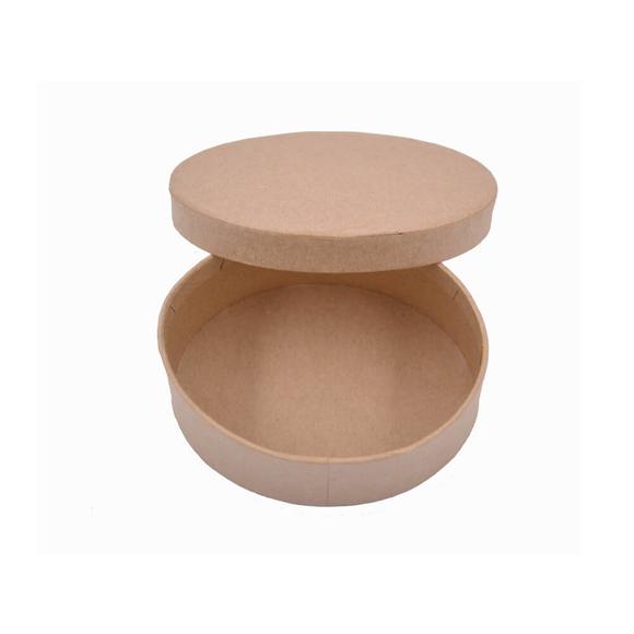 Folia Pappboxen Mini Oval Kraft Kutu 3322