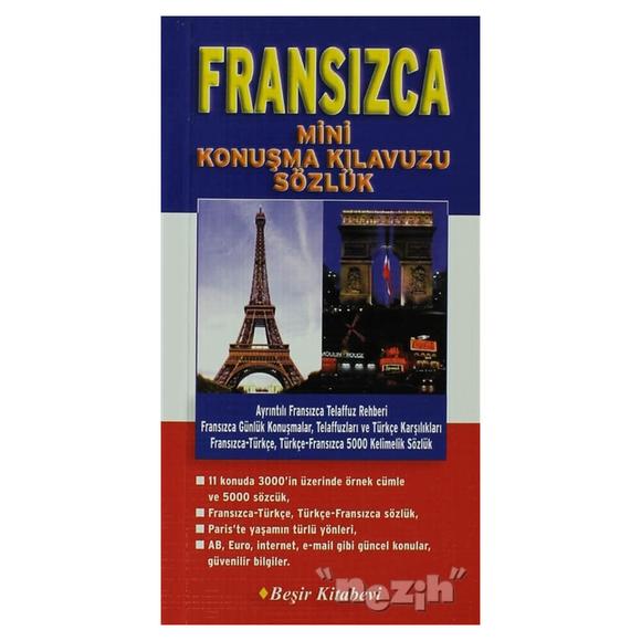 Fransızca Mini Konuşma Kılavuzu Sözlük