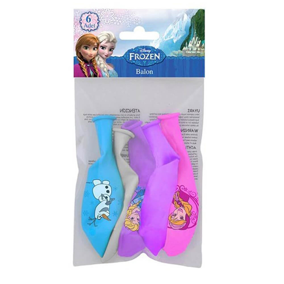 Frozen Balon 6'lı