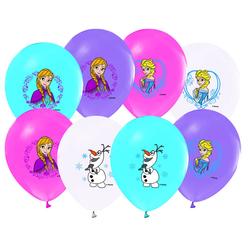 Frozen Baskılı Balon 12'li - Thumbnail