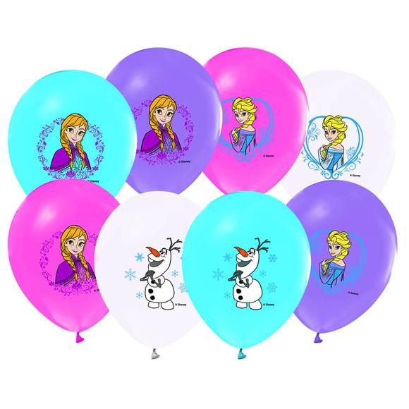 Frozen Baskılı Balon 12'li