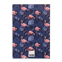 Fulique Flamingo Büyük Noktalı Defter 17x24cm - Thumbnail