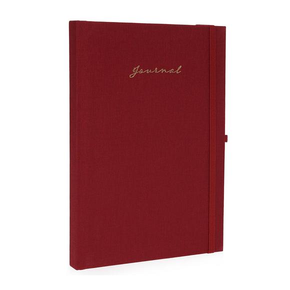 Fulique Journal Bordo Noktalı Defter 15,5x21,5cm