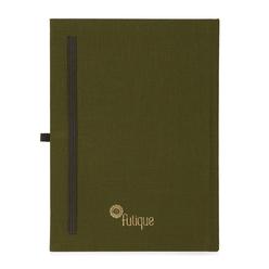 Fulique Journal Defter Haki 15,5x 21,5cm - Thumbnail