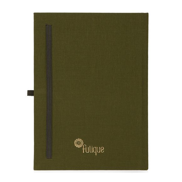 Fulique Journal Defter Haki 15,5x 21,5cm