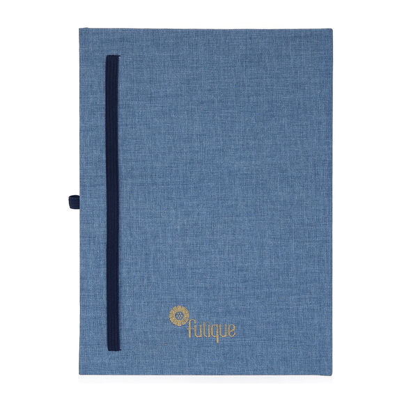 Fulique Journal Denim Noktalı Defter 15,5x21,5cm