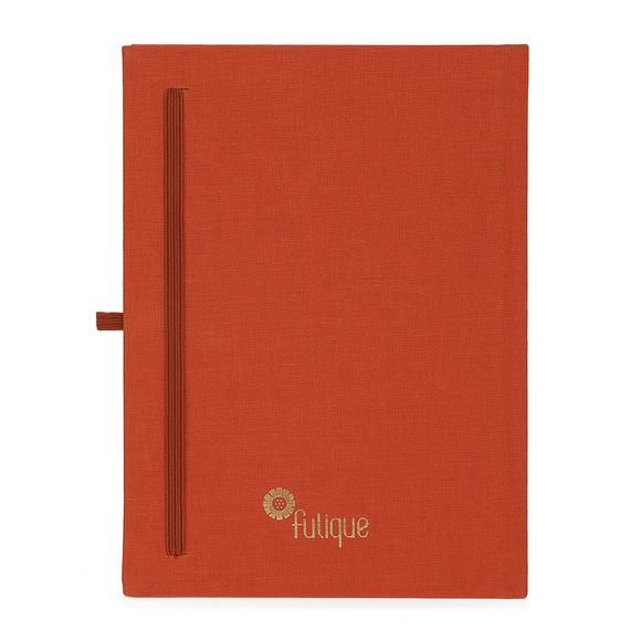 Fulique Journal Kiremit Noktalı Defter 15,5x21,5cm