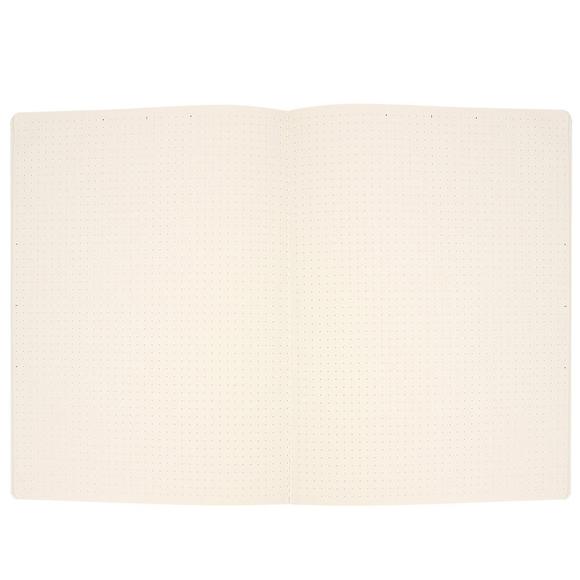 Fulique Pastel Gri Noktalı Defter 13*21 cm