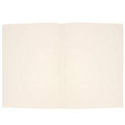 Fulique Pastel Gri Noktalı Defter 19x25 cm - Thumbnail