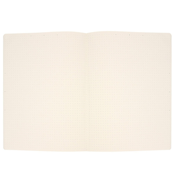 Fulique Pastel Pembe Noktalı Defter 19x25 cm