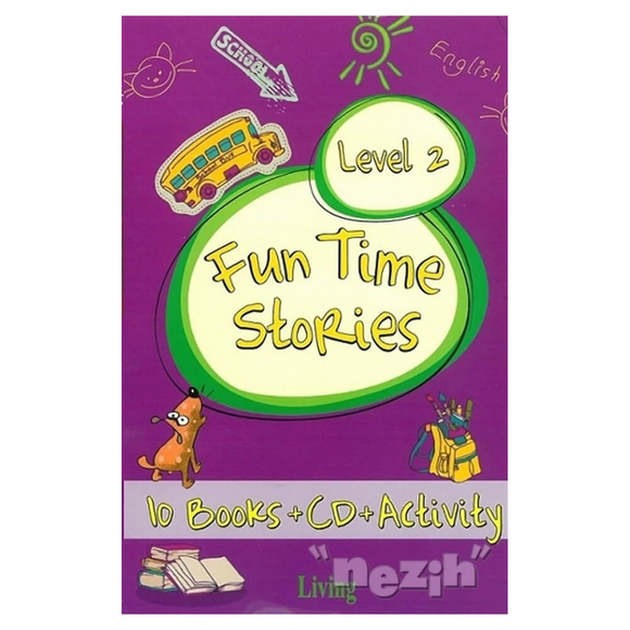 Fun Time Stories - Level 2 (10 Books+CD+Activity)