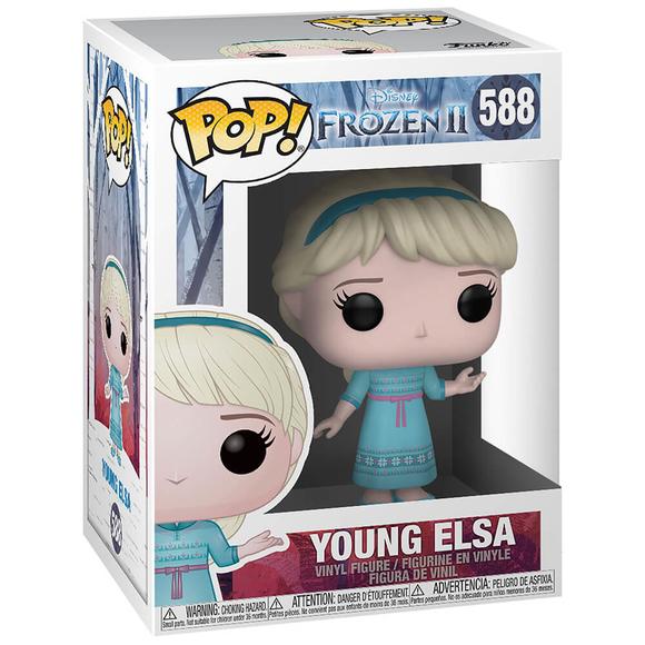 Funko Pop Disney Frozen 2 : Young Elsa Figür 40888
