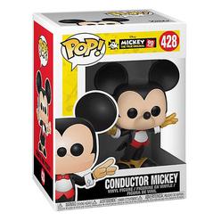 Funko Pop Disney Mickey's 90Th Anniversary : Conductor Mickey Figür 32186 - Thumbnail