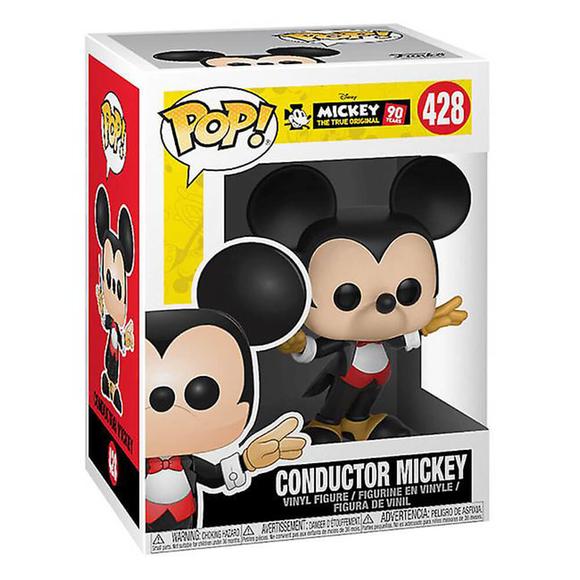 Funko Pop Disney Mickey's 90Th Anniversary : Conductor Mickey Figür 32186