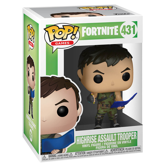Funko Pop Fortnite S1 : Highrise Assault Trooper Figür 34465