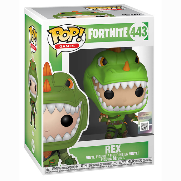 Funko Pop Fortnite S2 : Rex Figür 34957