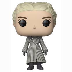 Funko Pop Game of Thrones : S8 Daenerys White Coat Figür 28888 - Thumbnail