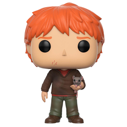 Funko Pop Harry Potter : Ron Weasley Scabbers Figür 14938 - Thumbnail