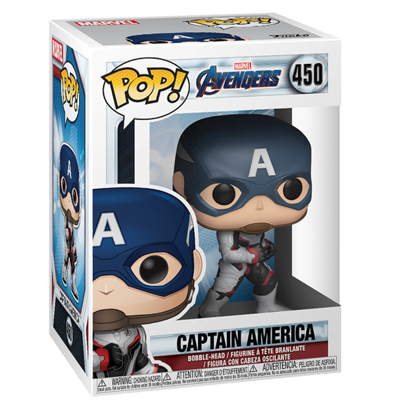 Funko Pop Marvel Avengers Endgame : Captain America 36661
