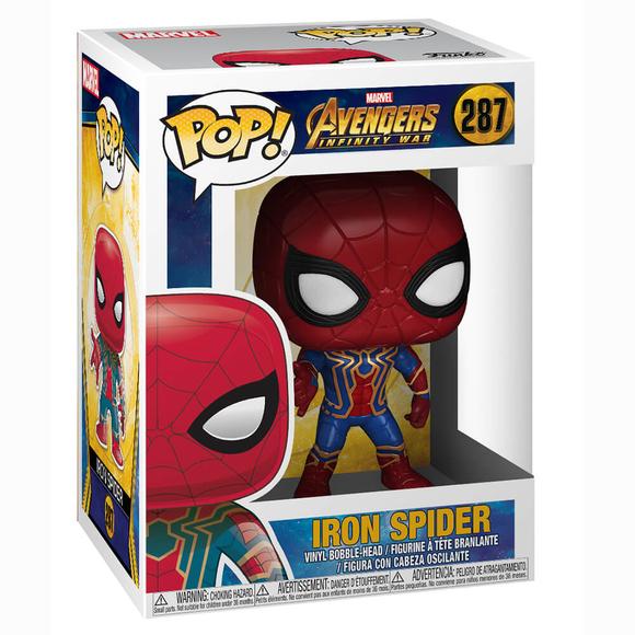 Funko Pop Marvel Avengers Infinity War : Iron Spider Figür 26465