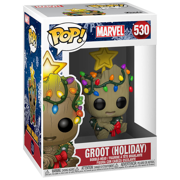 Funko Pop Marvel Holiday : Groot Le Figür 43333