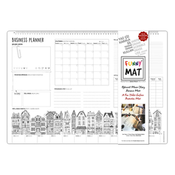 Funny Mat Çalışma Matı İş Planlayıcı 68x45 cm 0843 - Thumbnail