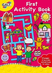 Galt First Activity Book Aktivite Kitabı L3077A - Thumbnail