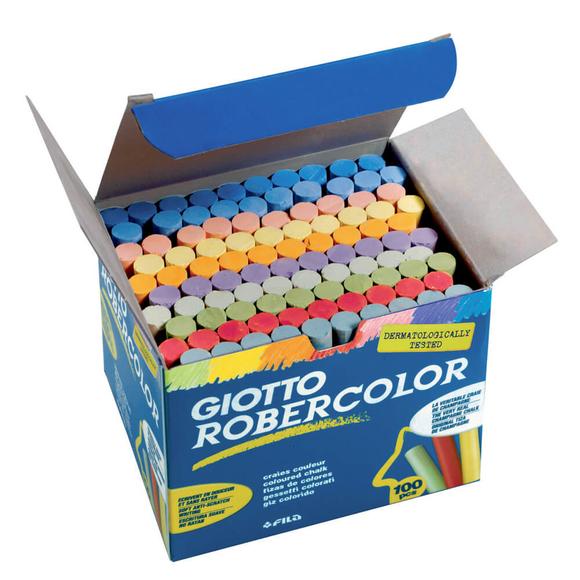 Giotto Robercolor Tebeşir Karışık Renkler 100'lü 539000