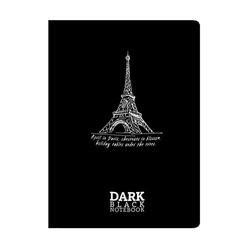 Gıpta Dark A5 Defter Karton Kapak 36 Yaprak Çizgisiz 2677 - Thumbnail