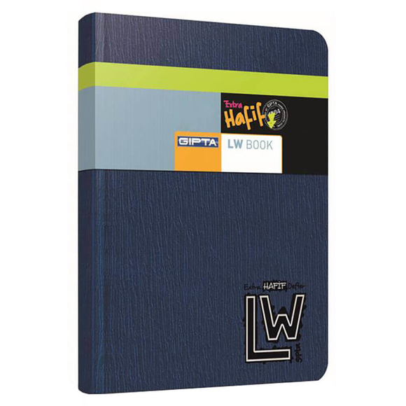 Gıpta Lw Book İp Dikişli Sert Kapak Kareli Defter 20x28 Cm 160 Yaprak
