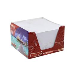 Globox Beyaz Küp Blok Not Kağıdı 6865 - Thumbnail