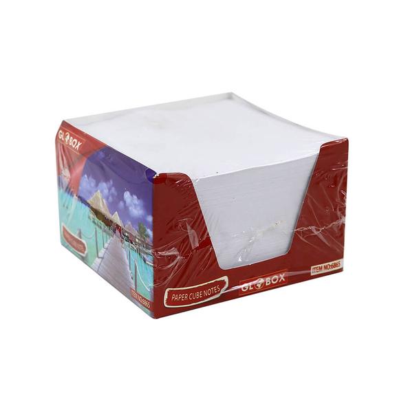 Globox Beyaz Küp Blok Not Kağıdı 6865