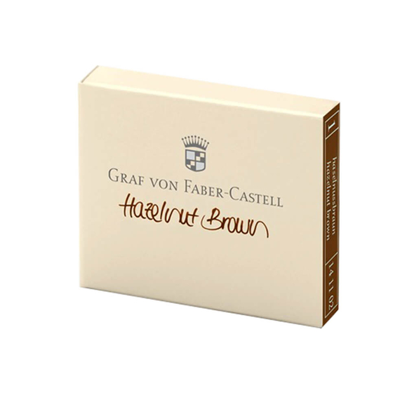 Graf Von Faber Castell Dolma Kalem Kartuşu 6'lı Kahve 141102