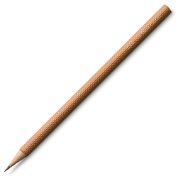 Graf von Faber Castell Guilloche Kurşun Kalem 6'lı Kahverengi 118621 - Thumbnail