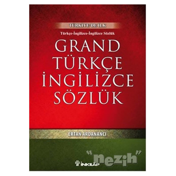 Grand Türkçe İngilizce Sözlük