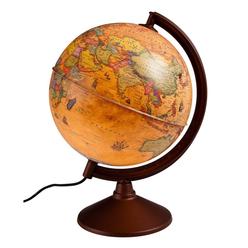 Gürbüz Antik Küre Işıklı 20 cm 46201 - Thumbnail