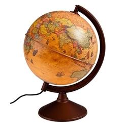 Gürbüz Antik Küre Işıklı 26 cm 44261 - Thumbnail