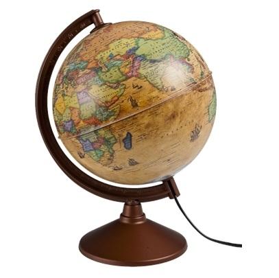 Gürbüz Antik Küre Işıklı 26 cm 44261