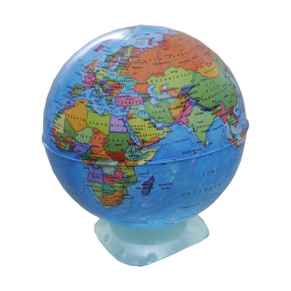 Gürbüz Globe Kalemtıraş Siyasi Küre 10 cm 42104