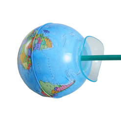 Gürbüz Globe Kalemtıraş Siyasi Küre 10 cm 42104 - Thumbnail