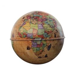 Gürbüz Globe Kumbara Antik Küre 10 cm 44103 - Thumbnail