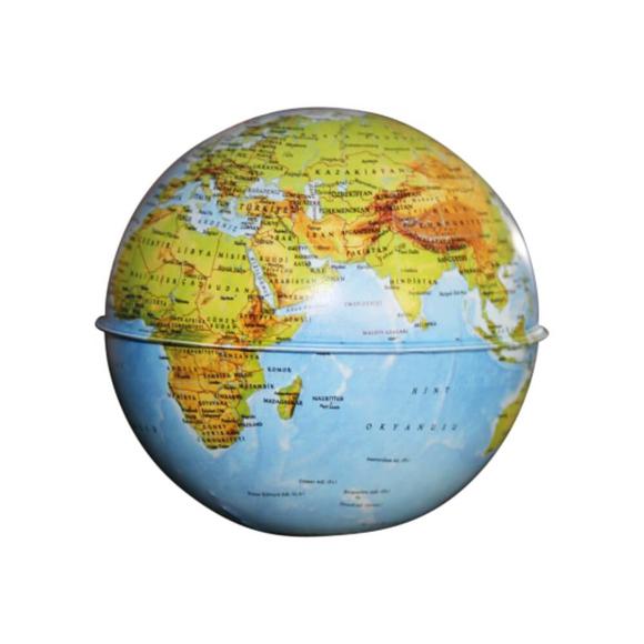 Gürbüz Globe Kumbara Fiziki Küre 10 cm 41103