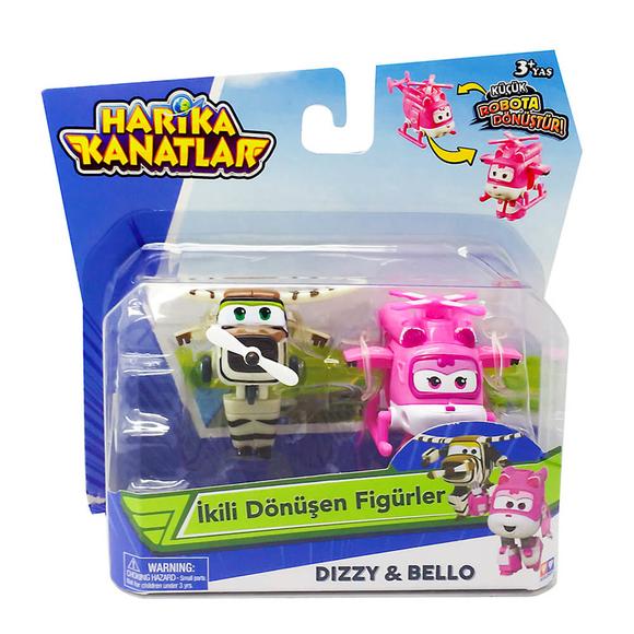 Harika Kanatlar 2'li Figür Dizzy & Bello