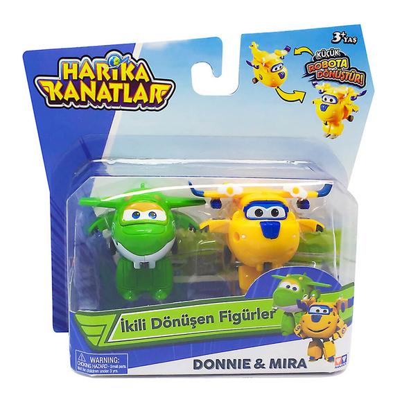 Harika Kanatlar 2'li Figür Donnie & Mira