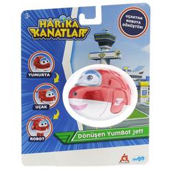 Harika Kanatlar Dönüşen Yumbot Jett 20551 - Thumbnail