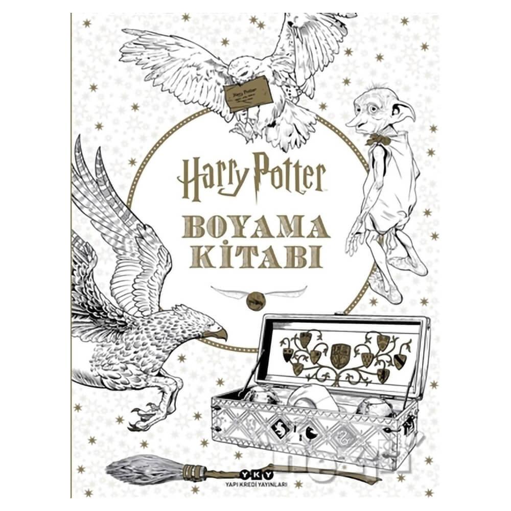 Harry Potter Boyama Kitabi Nezih
