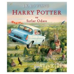 Harry Potter ve Sırlar Odası - 2 (Resimli Özel Baskı) - Thumbnail