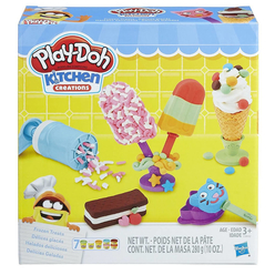 Hasbro Play-Doh Dondurma Partisi 0042 - Thumbnail
