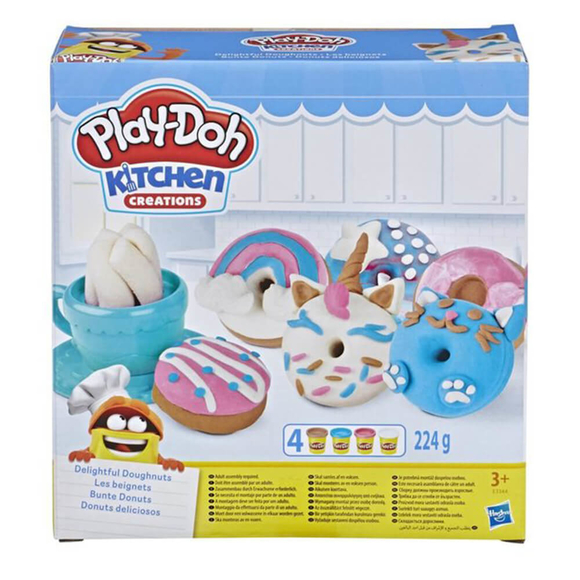 Hasbro Play-Doh Donut Eğlencesi E3344
