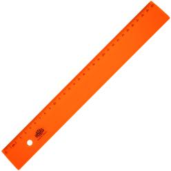 Hatas Geniş Plastik Cetvel Opak 30 cm 0149 - Thumbnail